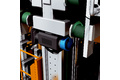 Positioning the z axis of the belt traction conveyor