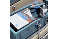 Protrusion monitoring in tote conveying