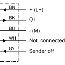 wttl p photoelectric sensors sick connection diagram cd 209