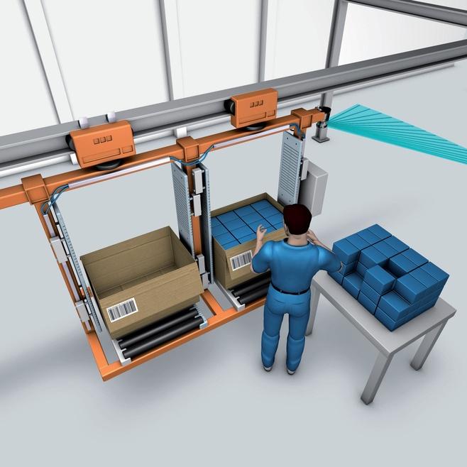 Electrical overhead conveyor