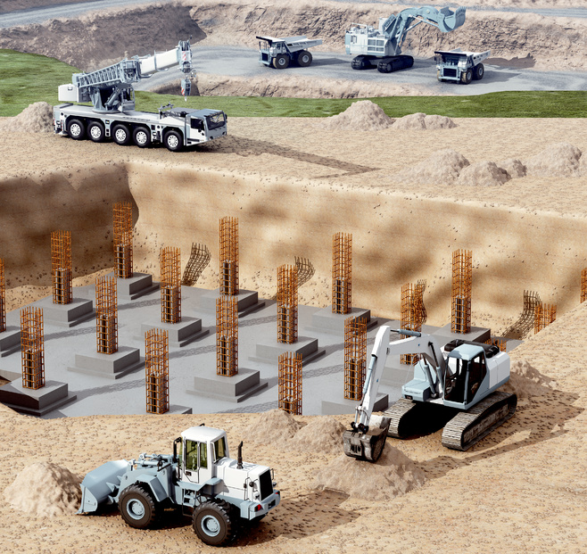 Construction and mining machines