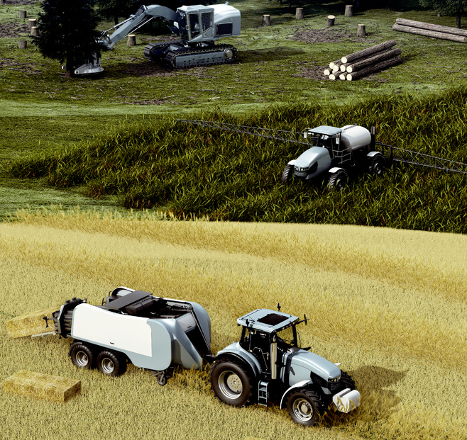 Agricultural and forestry machines