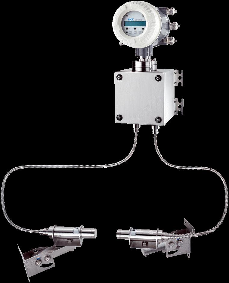 Flow Measuring Instruments : Flowsic sick sensor intelligence