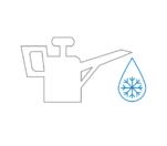 存在冷却剂、润滑剂和清洁剂的区域