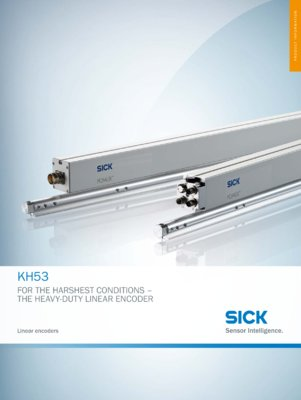 KH53 For the harshest conditions - The heavy-duty linear encoder