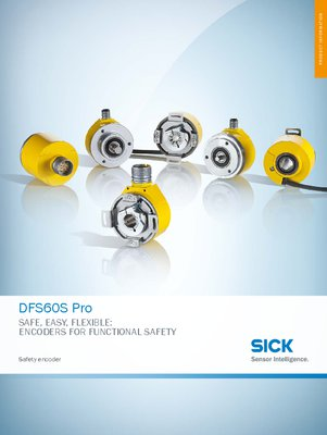 DFS60S Pro Safety encoder