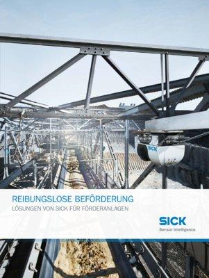 Reibungslose Beförderung Lösungen von SICK für Förderanlagen