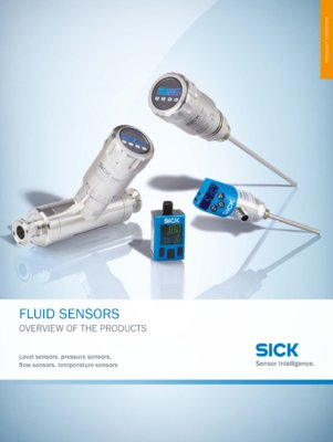 Fluid sensors Products at a glance