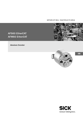 AFS/AFM60 EtherCAT englisch