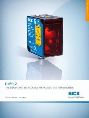 Dx50-2 Mid range distance sensors