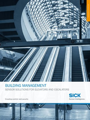 BUILDING MANAGEMENT - SENSOR SOLUTIONS FOR ELEVATORS AND ESCALATORS
