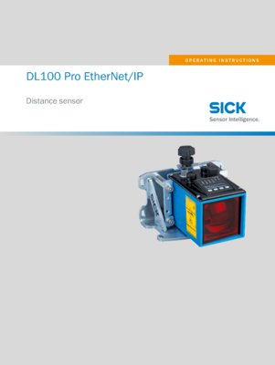 DL100 Pro EtherNetIP Distance measuring device