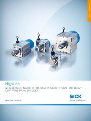 HighLine Wire draw encoder