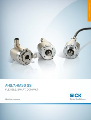 AHS/AHM36 SSI Flexible, smart, compact