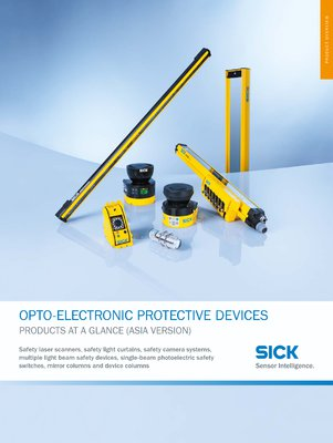 OPTO-ELECTRONIC PROTECTIVE DEVICES - PRODUCTS AT A GLANCE (ASIA VERSION)