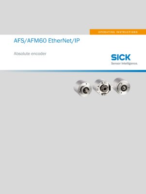 AFS60 EtherNet/IP AFM60 EtherNet/IP Absolute Encoder