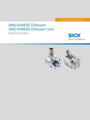 AHS/AHM36 CANopen Absolute Encoder