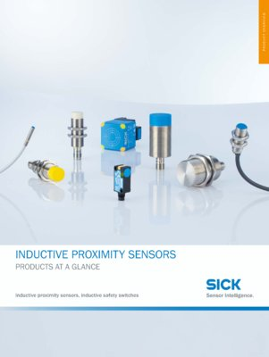 PROXIMITY SENSORS PRODUCTS AT A GLANCE
