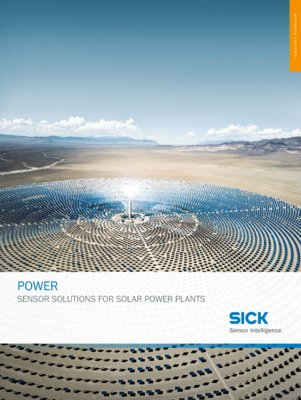 SENSOR SOLUTIONS FOR SOLAR POWER PLANTS