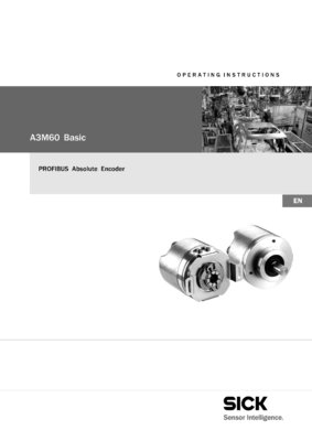 A3M60 Basic - PROFIBUS Absolute Encoder