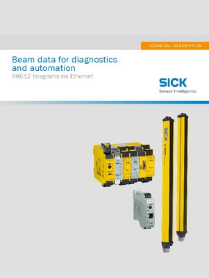 Beam data for diagnostics and automation