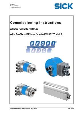 ATM60/ATM90/KHK53 with Profibus DP Interface to EN 50170 Vol.2