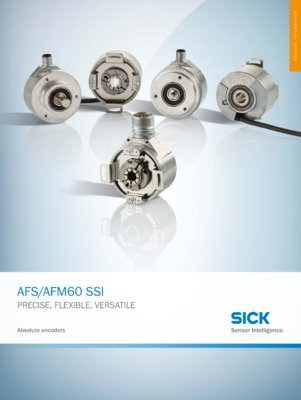 AFS60/AFM60 SSI Absolute Encoders