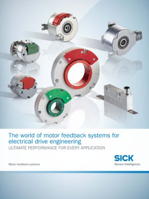 The world of motor feedback systems for electrical drive engineering