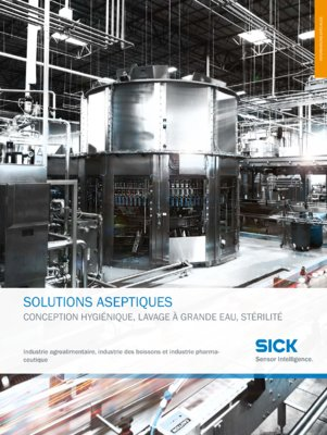 SICK Solutions hygienic solutions