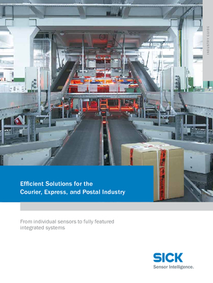 Efficient Solutions for the Courier, Express and Postal Industry