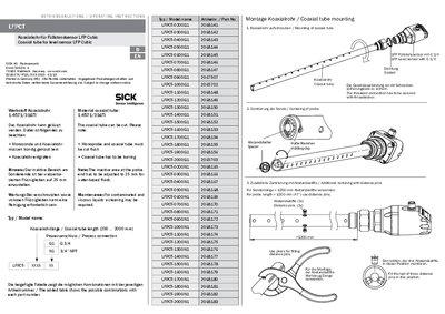 LFPCT Coaxial tube for level sensor LFP Cubic