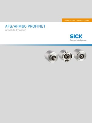 AFS/AFM60 PROFINET Absolute Encoder
